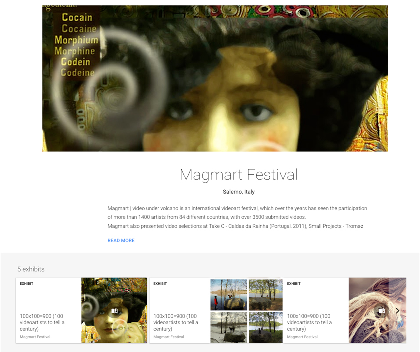 Check out - my video at Magmart Festival