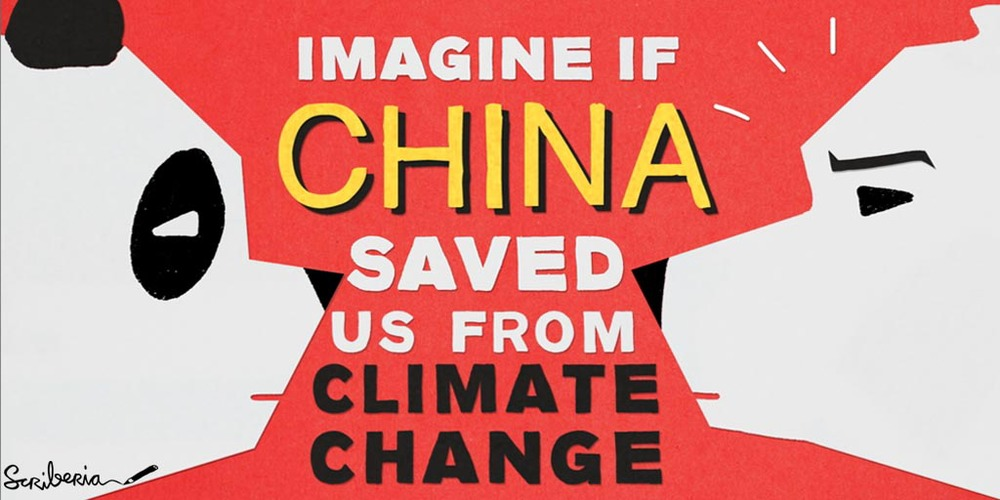 Turns out China is not such a bad guy when it comes to CO2 emissions.