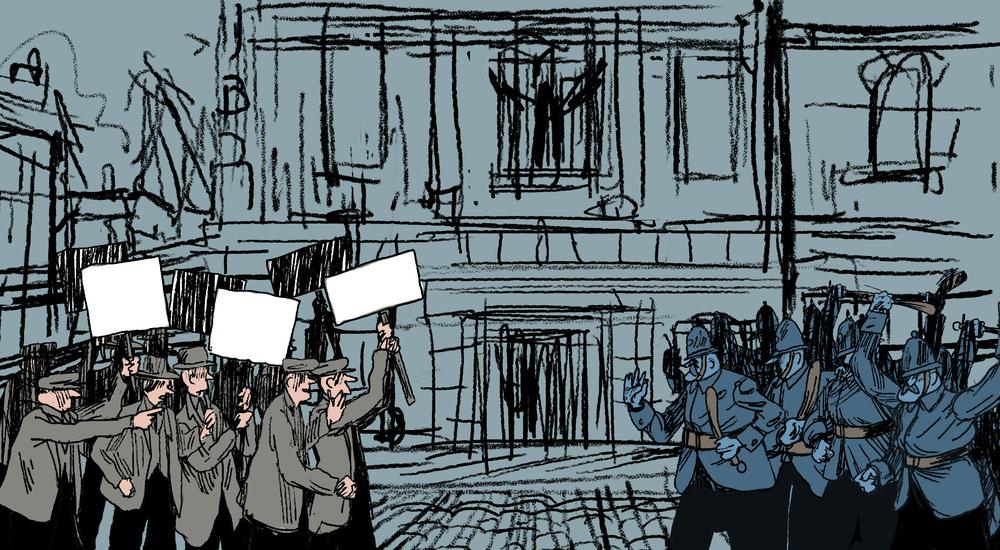 Century Ireland Easter Uprising scriberia animation