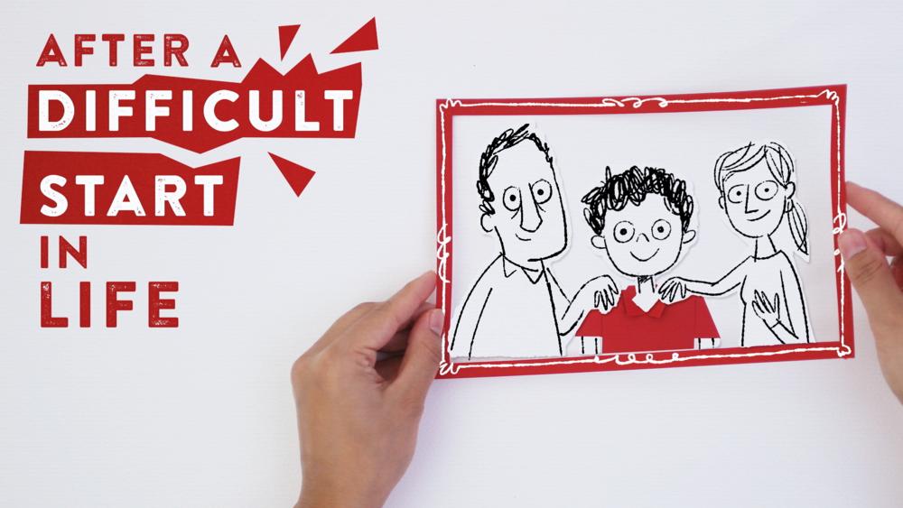 Action for Children scriberia animation