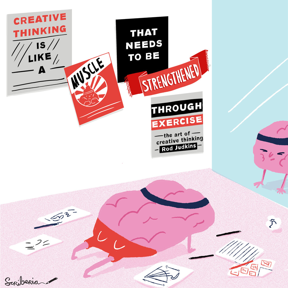 hardworking creative muscle scriberia
