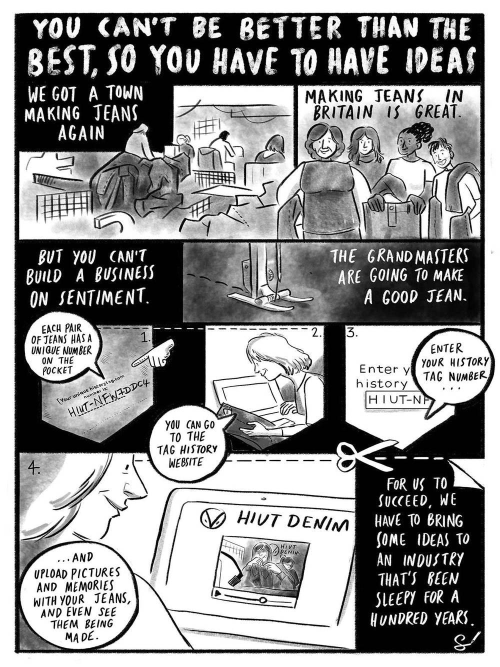scriberias hiut denim have the ideas