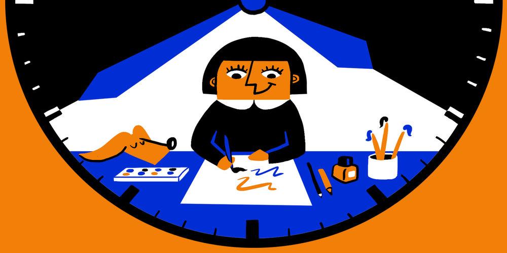 scriberia creative rituals creativity routine 1