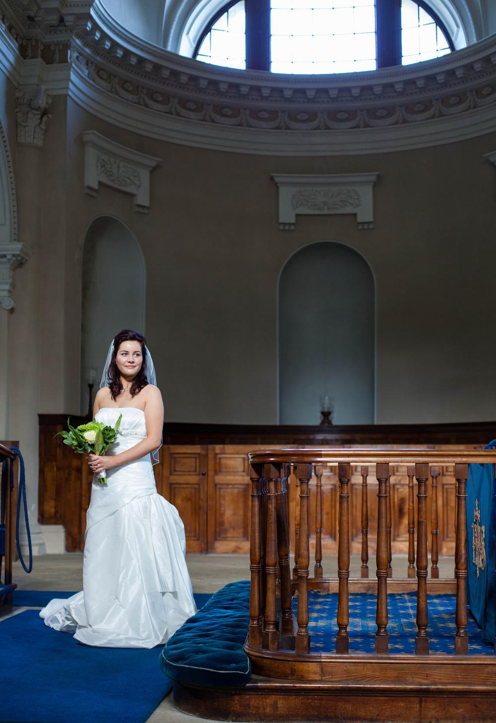 Gibside Chapel Wedding Internal