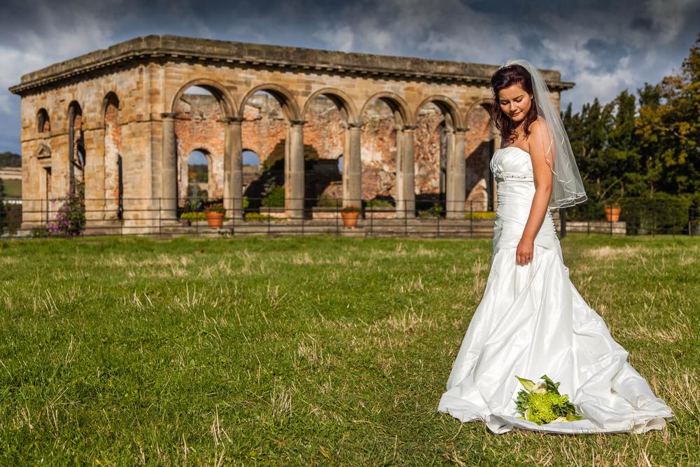 Gibside Orangery Wedding Rachel