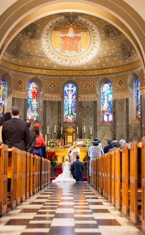 Sacred Heart Church wedding Middlesbrough