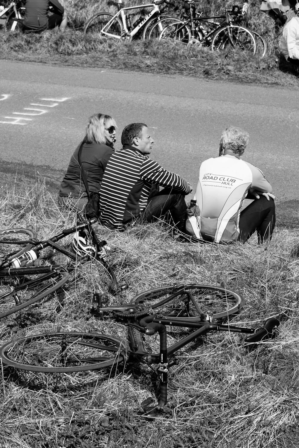 Tour de Yorkshire monochrome