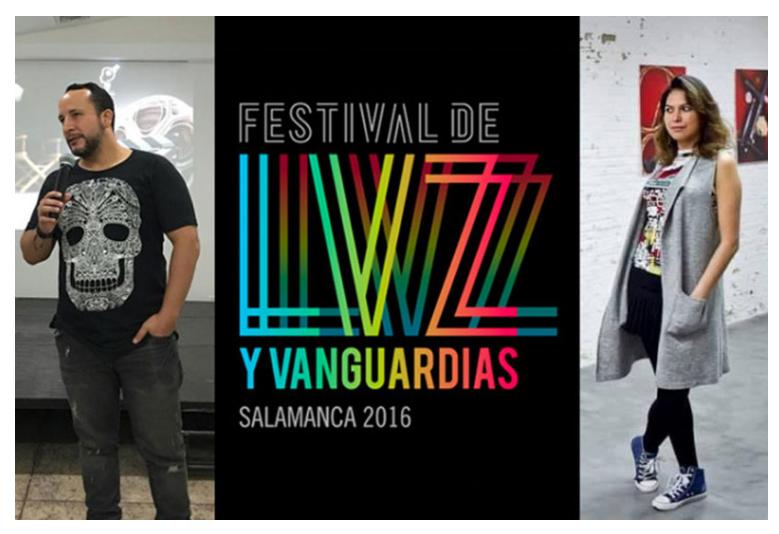 Heleci Ramírez y Gabriel Vallecillo, finalistas en el Festival de Luz y Vanguardias en Salamanca