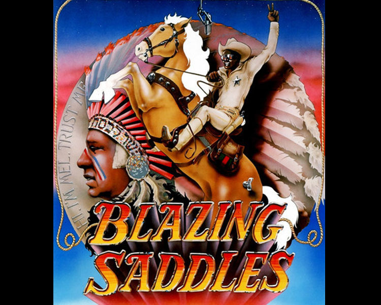 Blazing Saddles - In order to ruin a western town, a corrupt politician appoints a black sheriff, who promptly becomes his most formidable adversary.Rated RFriday, July 7 | 7:30 p.m.