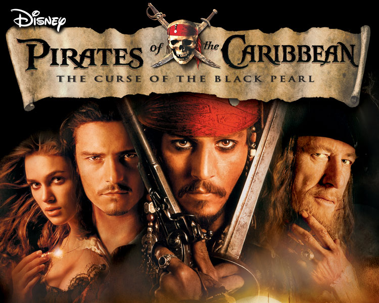 Pirates of the Caribbean: The Curse of the Black Pearl - Blacksmith Will Turner teams up with eccentric pirate
