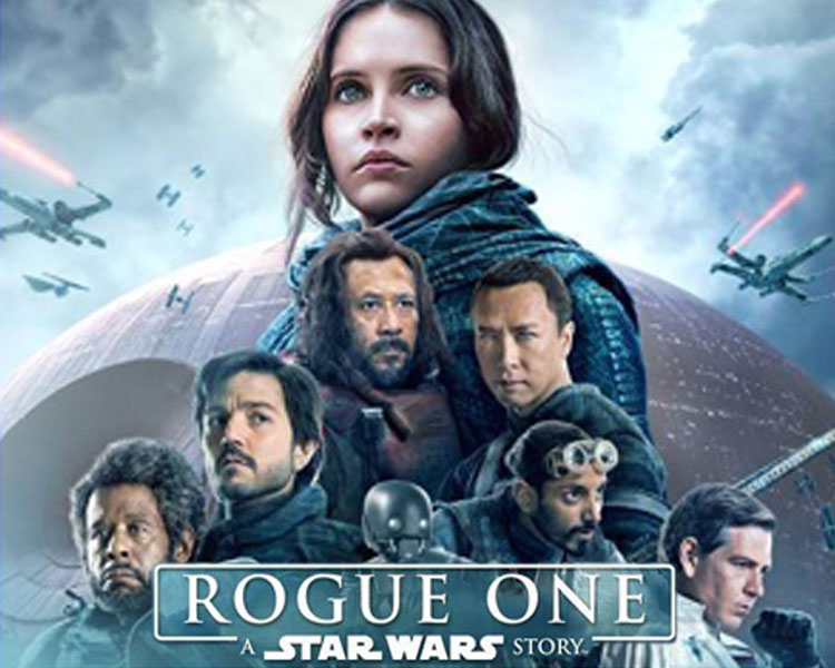 Rogue One:         A Star Wars Story - The Rebel Alliance makes a risky move to steal the plans for the Death Star, setting up the epic saga to follow.Rated PG-13 for extended sequences of sci-fi violence and actionSaturday, July 15  |  8 p.m.