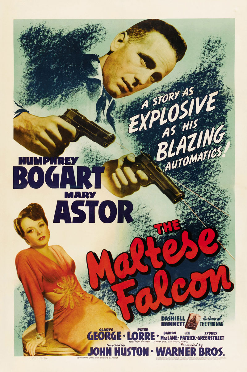 The Maltese Falcon - Film Noir NightJune 23A private detective takes on a case that involves him with three eccentric criminals, a gorgeous liar, and their quest for a priceless statuette.Not Rated |  1h 40min | Film-NoirPURCHASE TICKETSTRAILER