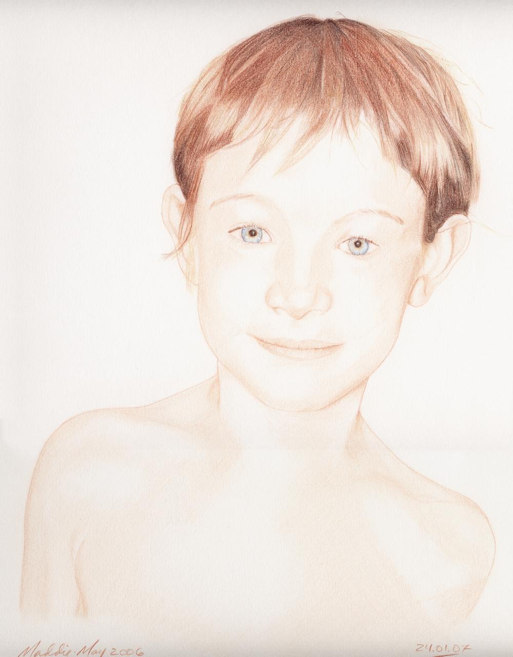 Madeleine, age 8