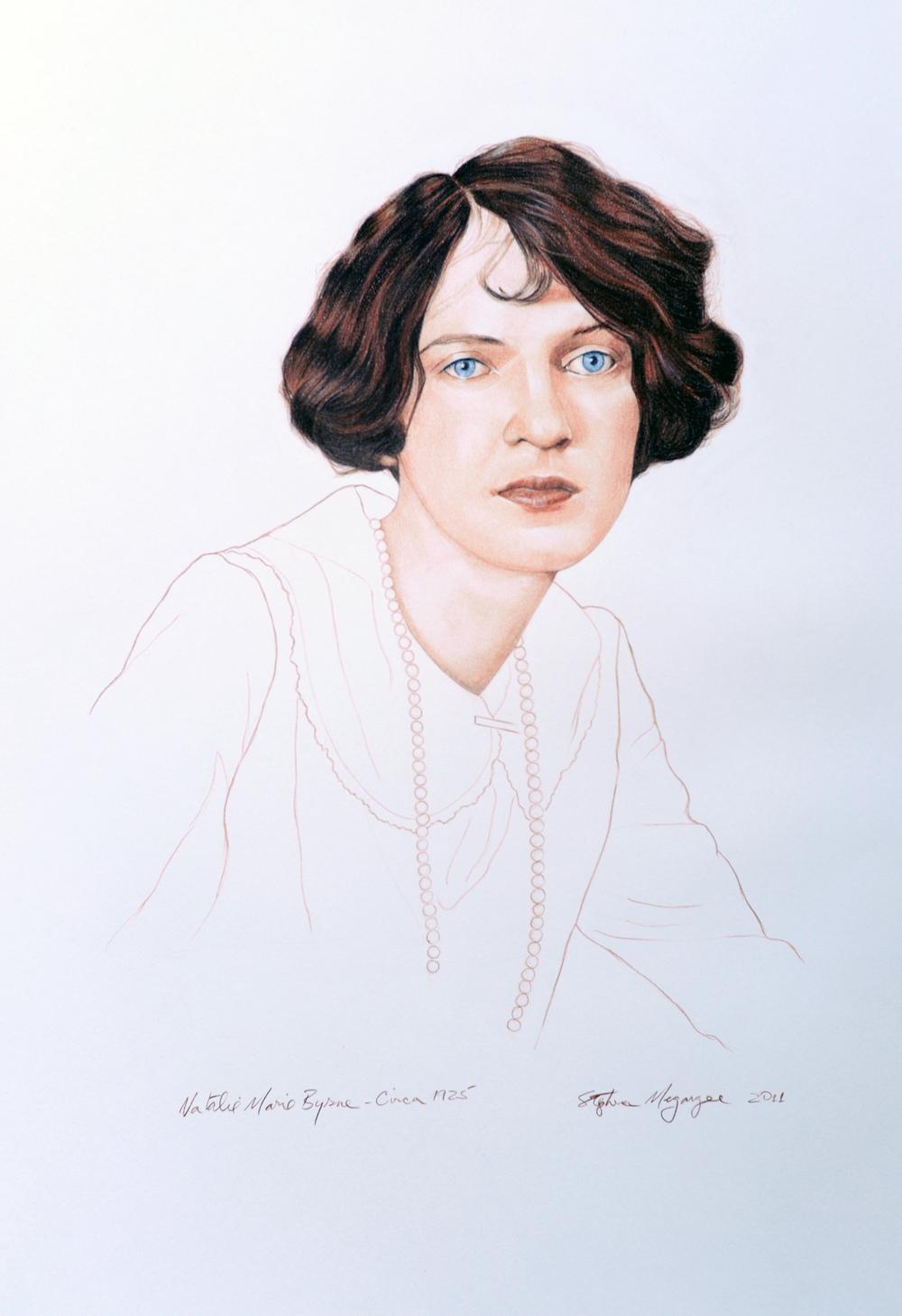 Natalie Marie Byrne, Circa 1925