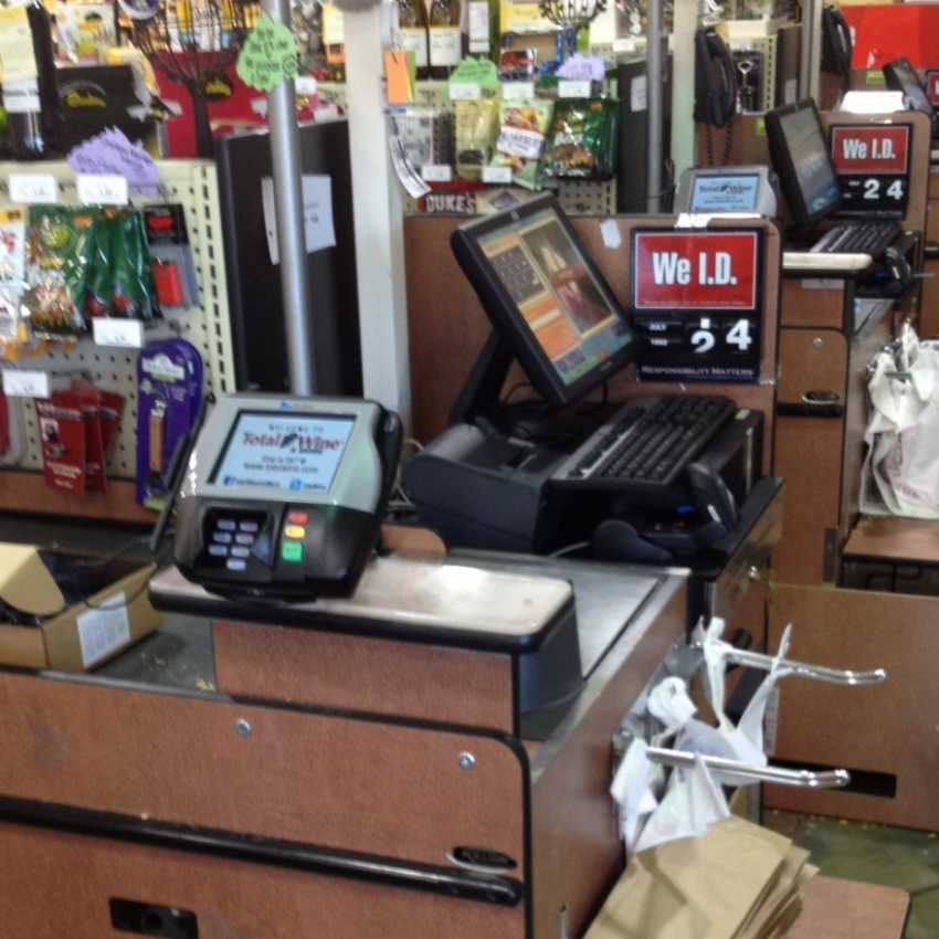 Point of Sale installation