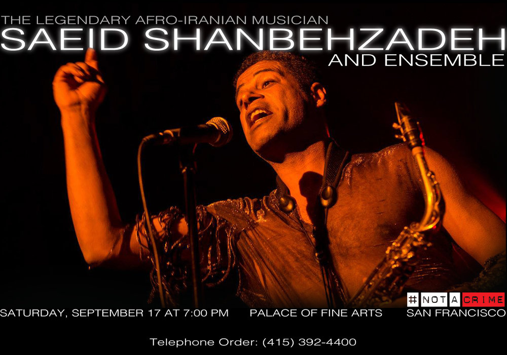 Saeid Shanbehzadeh and Ensemble live 2016