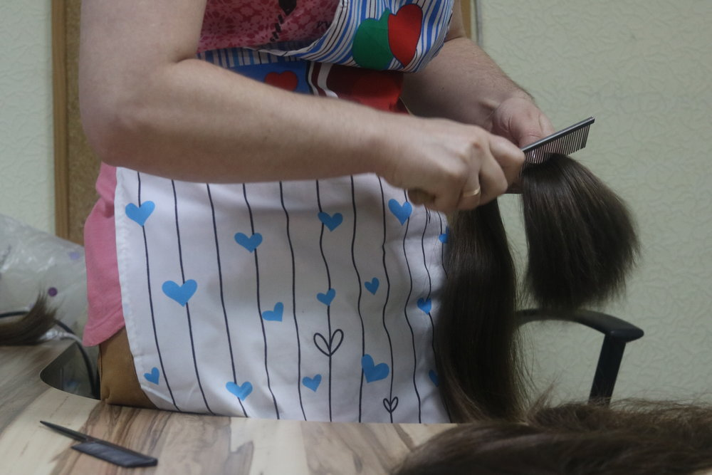 Hair Preparation By Hand