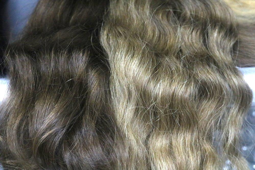 Double Drawn Slavic Hair