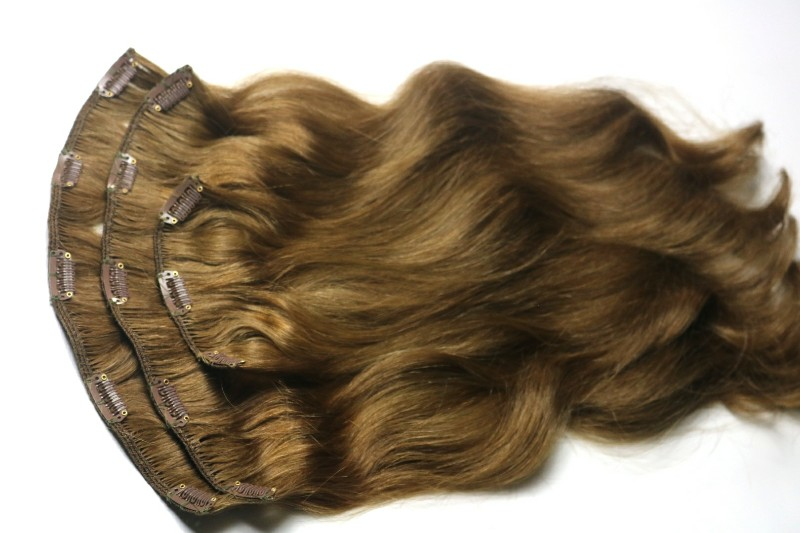 Real Hair Clip-in Hair Extensions