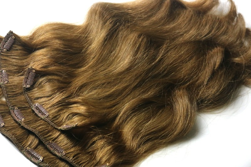 100g of Slavic Clip-in Hair Extensions