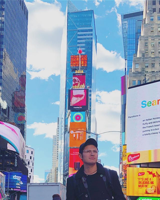 If you knew who walked beside you at all times, on the path that you have chosen, you could never experience fear or doubt again. — Wayne Dyer  #jesus #faith #christianity #outlook #newyorkcity #timessquare