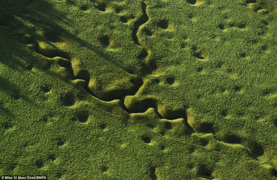 The Somme, close to 100 years after the end of World War One
