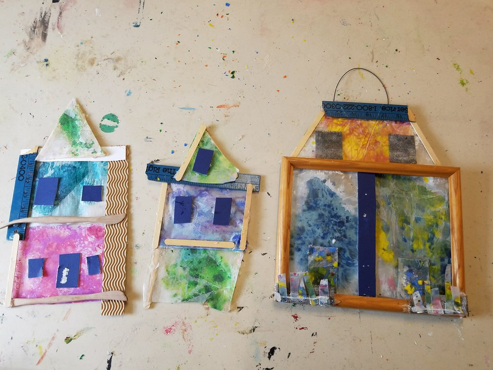 construction in art - July 8 - July 12, 2019