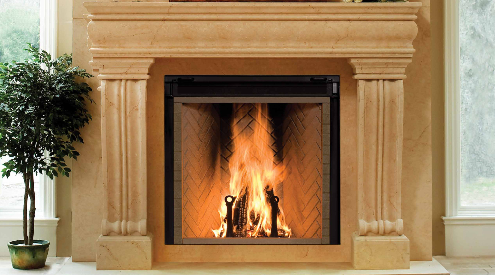 Rumford fireplace insert wood fireplaces fireplace for Rumford fireplace insert