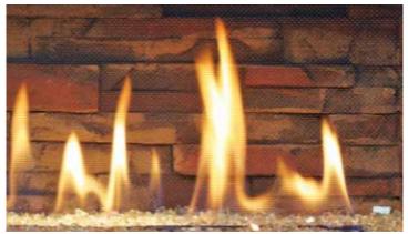 Ledgestone Pattern Fireback