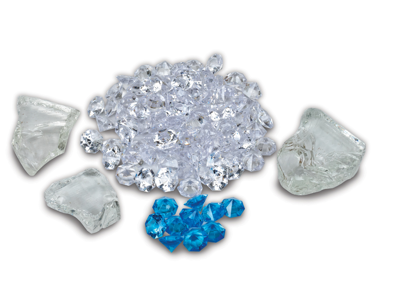 Fire &Ice -Clear and Blue Diamond Media