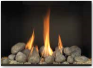 Fire Stones with Crushed Fire Glass