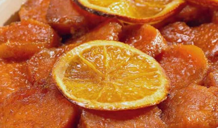 Candied Sweet Potatoe  -