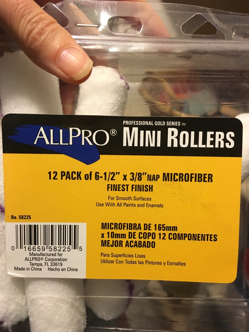 "Doesn't HAVE to be exact brand but does need to be micro-fiber 3/8""nap."