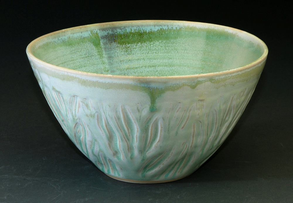 Carved Tree Bowl