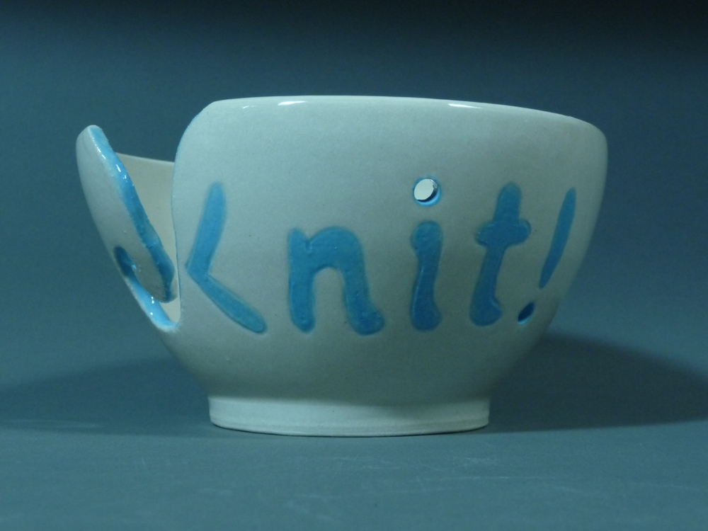 Blue knit bowl Empty.JPG