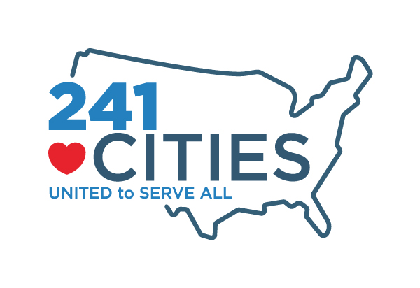 241 Cities: United to Serve All