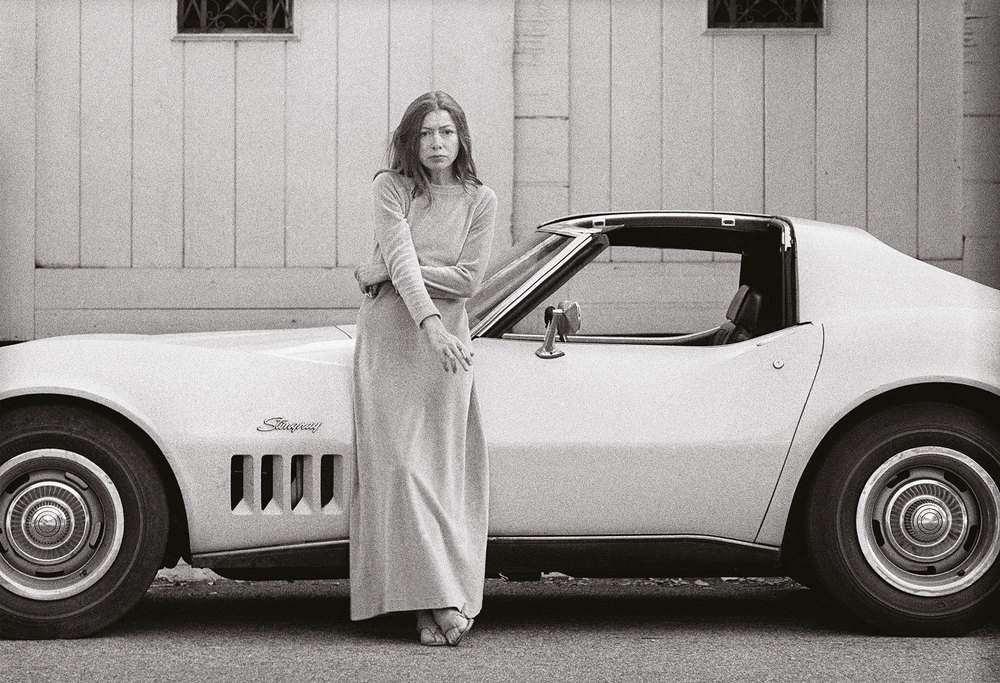JOAN DIDION CORVETTE PAMELA LOVE DOUBLE OR NOTHING PERFECT SYLE MOMENT