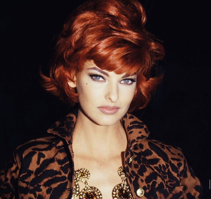 AYA KANAI DOUBLE OR NOTHING LINDA EVANGELISTA HAIR