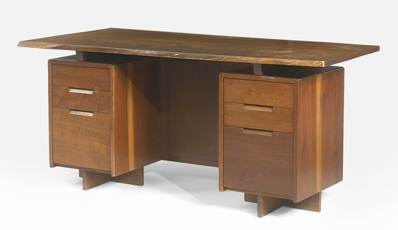 DAVID DE QUEVEDO DOUBLE OR NOTHING NAKASHIMA DESK