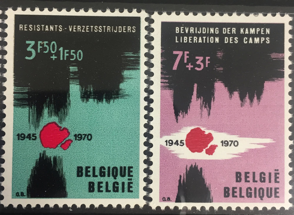 Various Postage Stamps, 1970–1990.