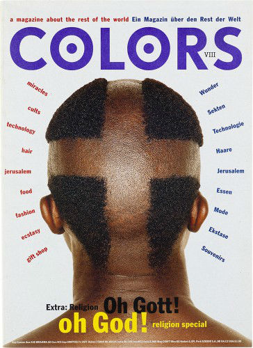 Colors Magazine,1991–1995.                    ARTWORK BY TIBOR KALMAN.