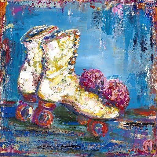 Funky Roller Skates