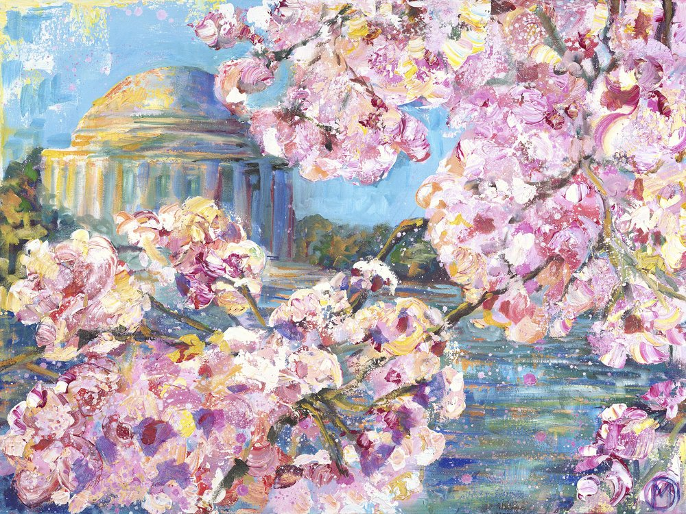 NEW Cherry Blossom Prints & Products! - Go to the SHOP to see new cherry blossom merchandise including