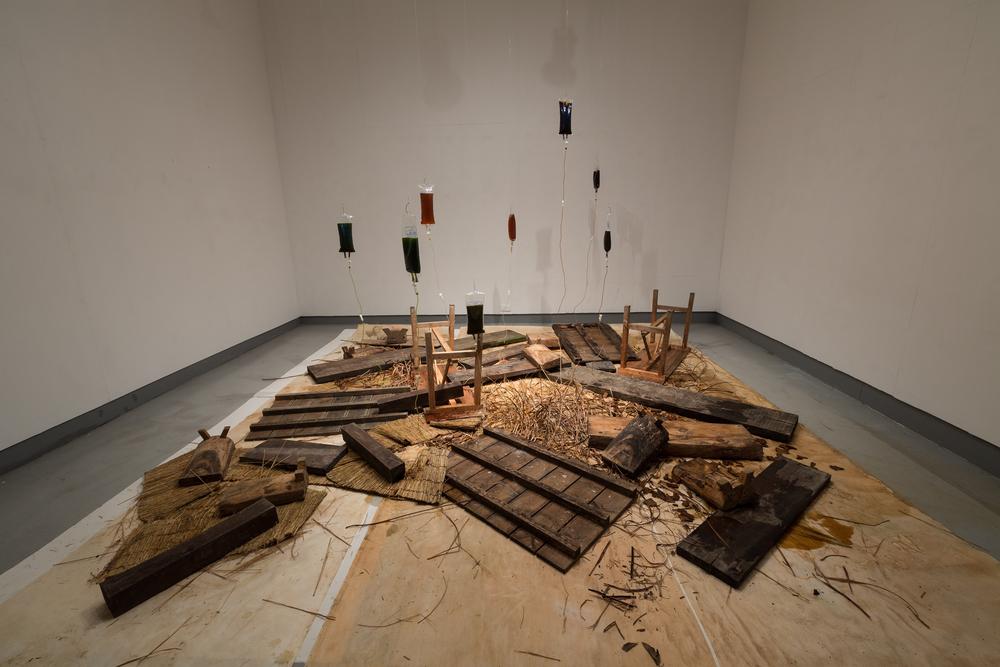 Memory Gap-Bulat maiking   Schema Art Museum, Cheongju  2015