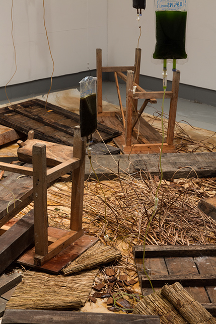 Memory Gap-Bulatmaiking   Schema Art Museum, Cheongju  2015