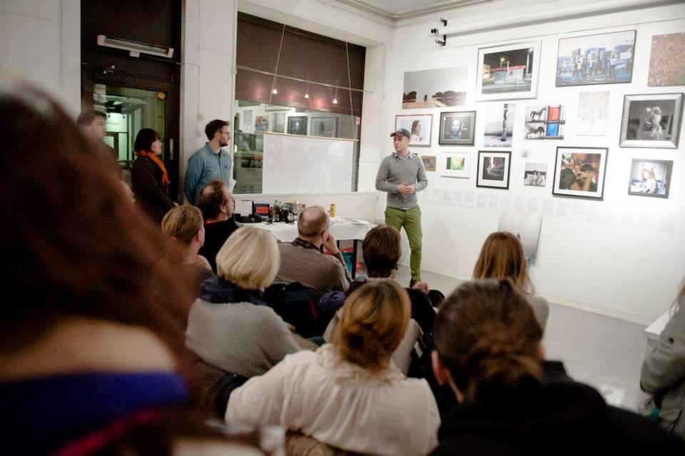 Presentasjoner under publikumskvelden