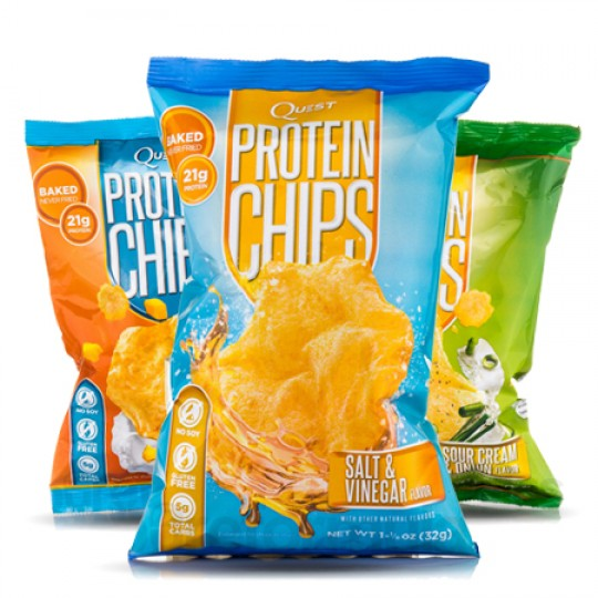 Protein chips lean protein snacks