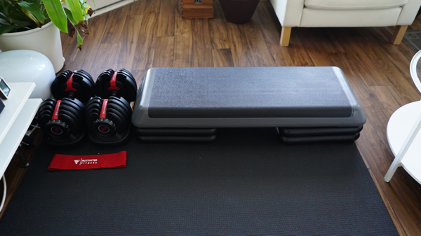 The 8 Pieces Of Equipment In My Total Workout Apartment Gym I Am Co