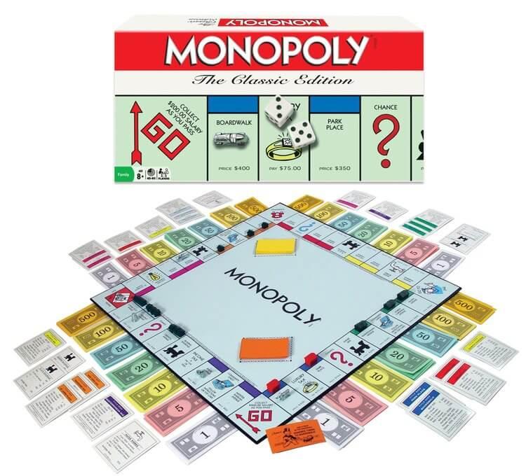 monopoly best board games