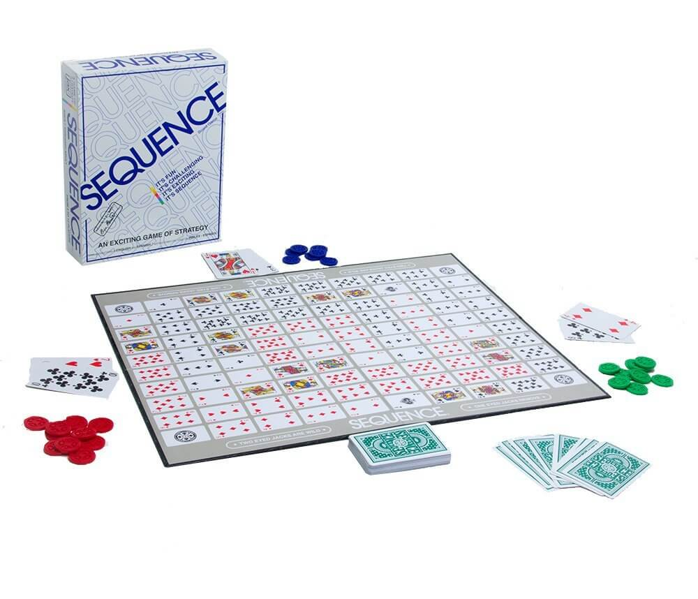 sequence game board best board games